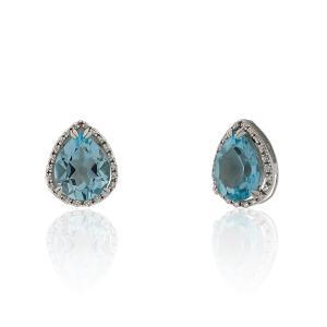 4dd6462d4ed1 Pendiente diamante oro 18 quilates