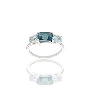 Sortija diamante oro 18 quilates